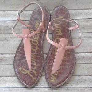 Sam Edelman Gigi Coral Peach Sandals 10